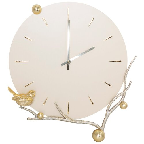 Часы настенные BOGACHO Терра Бранч Айвори Мраморное Золото часы настенные bogacho терра бронза