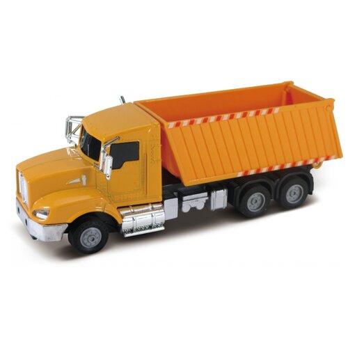 Строительный грузовик Funky Toys кабина die-cast, инерционный механизм, свет, звук, 1:43 (FT61081)