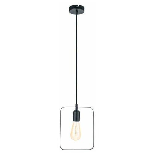 Потолочный светильник Eglo Bedington 49776, E27, 60 Вт, кол-во ламп: 1 шт., цвет арматуры: черный потолочный светильник eglo 94635 e27 60 вт