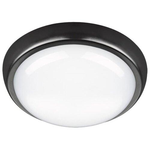 Novotech Уличный настенно-потолочный светильник Opal Led 357507 светодиодный, 24 Вт, цвет арматуры: черный, цвет плафона белый уличный потолочный светильник novotech 357505