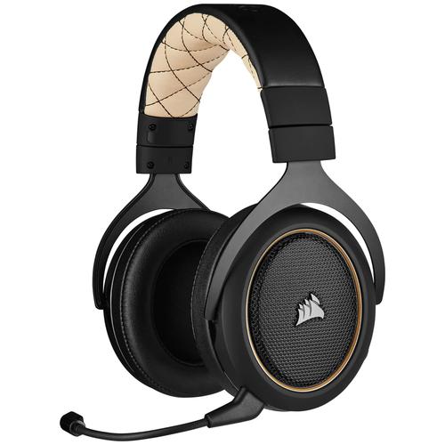 Фото - Компьютерная гарнитура Corsair HS70 Pro Wireless Gaming Headset cream компьютерная гарнитура corsair hs50 pro stereo gaming headset черный матовый