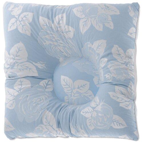 Подушка Smart Textile Релакс 40 х 40 см голубой, серый