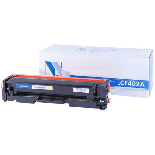 Фото - Картридж NV Print CF402A для HP, совместимый картридж nv print cf400a для hp совместимый