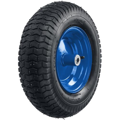 Фото - Колесо для тачки ЗУБР пневматическое (39902-1) 370 мм колесо для тачки зубр 380х16мм полиуретановое 39912 2