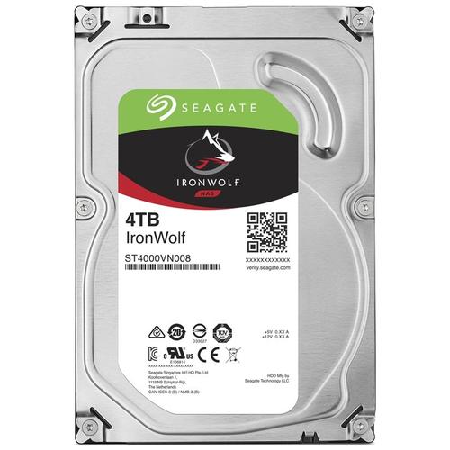 Жесткий диск Seagate IronWolf 4 TB ST4000VN008 жесткий диск seagate ironwolf 3 tb st3000vn007