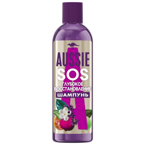 Aussie шампунь SOS глубокое восстановление для поврежденных волос, 290 мл