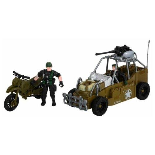 Игровой набор Джамбо Тойз Военный недорого