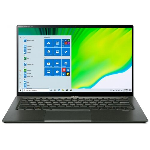 "Ноутбук Acer Swift 5 SF514-55TA-71JH (Intel Core i7 1165G7 2800MHz/14""/1920x1080/16GB/1024GB SSD/Intel Iris Xe Graphics/Windows 10 Pro) NX.A6SER.006 зеленый"