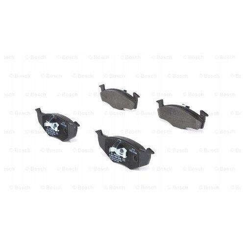 Дисковые тормозные колодки передние Bosch 0986494005 для Seat Arosa, Skoda Fabia, Volkswagen Lupo (4 шт.) дисковые тормозные колодки передние bosch 0986494704 для skoda audi seat volkswagen 4 шт