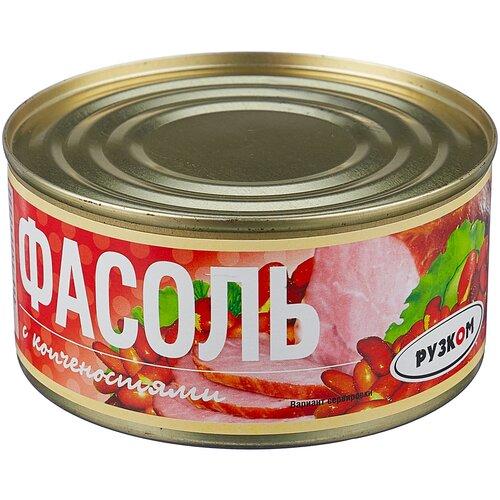 Фото - Рузком Фасоль с копченостями 325 г плов рузком узбекский с говядиной 325 г