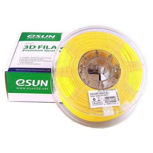 Фото - PLA пруток ESUN 1.75 мм, 1 кг, желтый pla пруток esun 1 75 мм желтый 1 кг