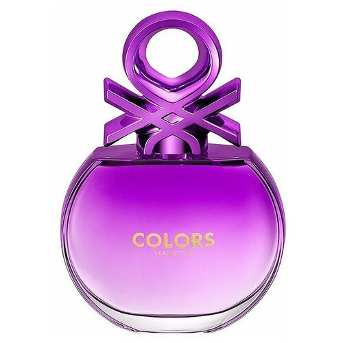 Туалетная вода UNITED COLORS OF BENETTON Colors de Benetton Purple, 80 мл водолазка united colors of benetton 1030d2344 09h