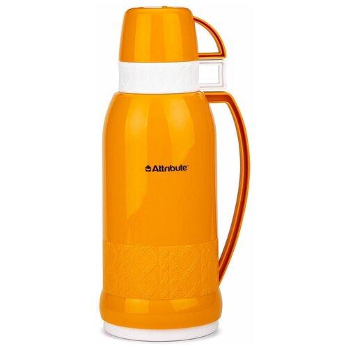 Классический термос Attribute Jersey AVF601, 1 л оранжевый