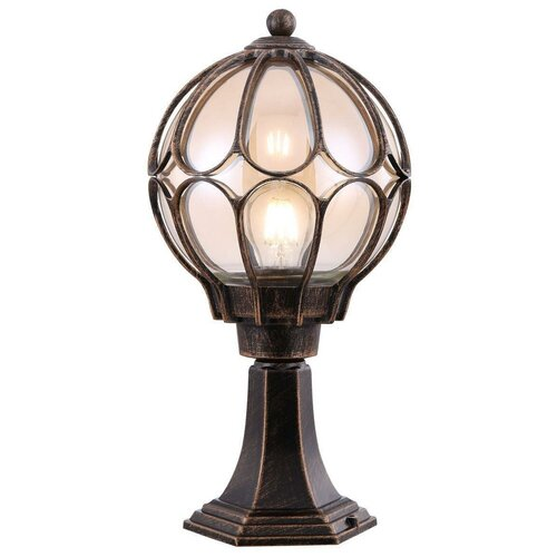 MAYTONI Уличный светильник Via O024FL-01G maytoni уличный светильник via o024fl 01g