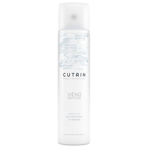 Фото - Cutrin Vieno Лак для волос Sensitive Hairspray Strong, сильная фиксация, 450 мл ollin professional лак для волос style hairspray средняя фиксация 450 мл