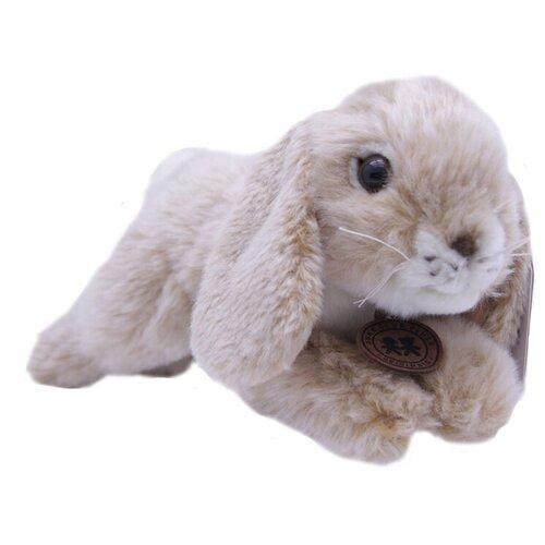 Мягкая игрушка Anna Club Plush Кролик кремовый лежащий 10 см