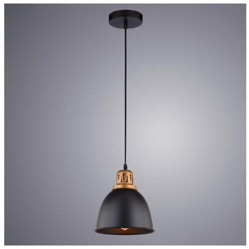 Потолочный светильник Arte Lamp Eurica A4245SP-1BK, E27, 60 Вт потолочный светильник arte lamp ferrico a9183sp 1bk e27 60 вт