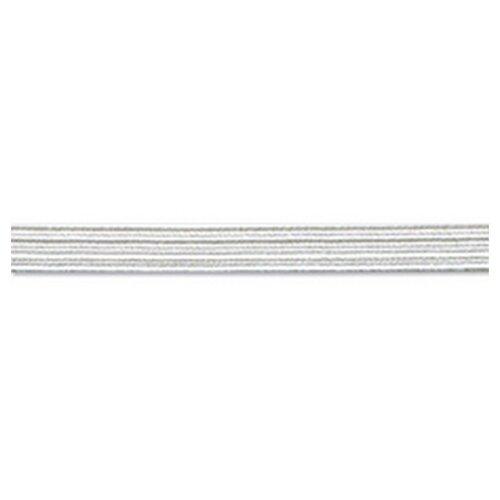 Купить Резинка продежка, 5, 3 мм, цвет белый 64% полиэтер, 36% латекс, PEGA, Технические ленты и тесьма