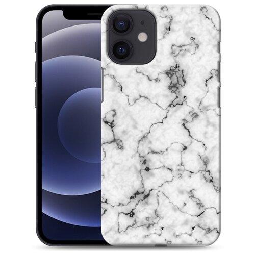 Дизайнерский пластиковый чехол для Iphone 12 Mini Мраморные тренды