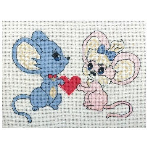 Купить PANNA Набор для вышивания Предложение руки и сердца 17.5 x 12.5 см (D-0075), Наборы для вышивания