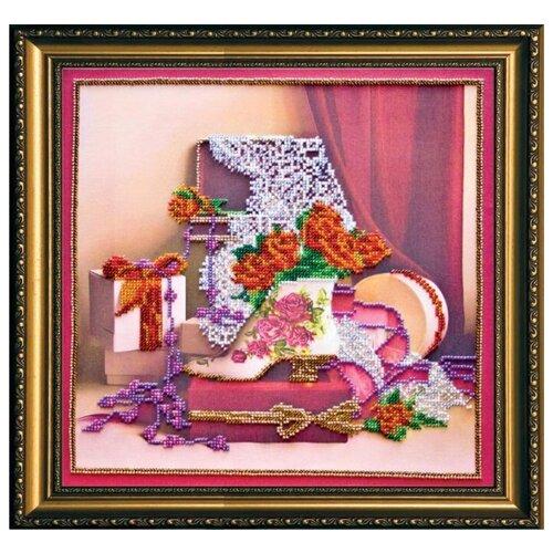 Купить Набор для вышивания бисером АБРИС АРТ AB-136 Дамские штучки 30х30 см, ABRIS ART, Наборы для вышивания