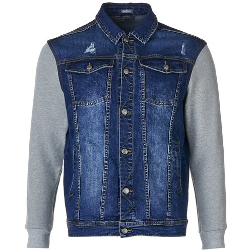 Купить Куртка Gulliver 11910BJC4202 размер 134, голубой, Куртки и пуховики