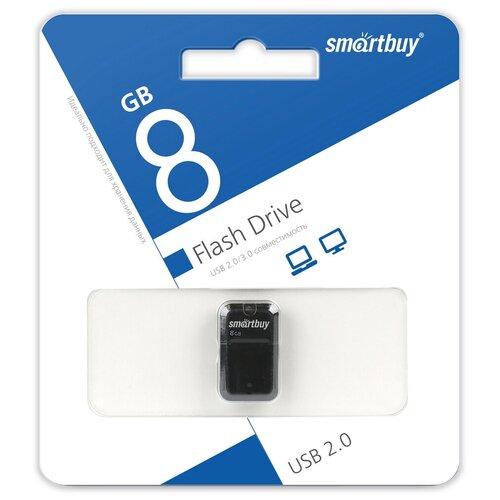 Фото - Флешка SmartBuy Art 8 GB, черный флешка smartbuy art 64 gb черный