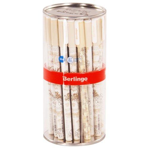 Купить Berlingo Набор шариковых ручек Funline Coffee, 0.7 мм, 36 шт (CBp_07274), синий цвет чернил, Ручки