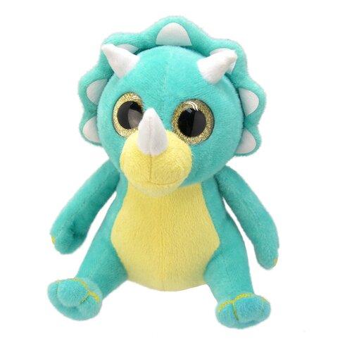 Мягкая игрушка Wild Planet Динозаврик-трицераптор 15 см