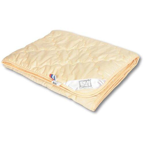 Фото - Одеяло АльВиТек Соната, легкое, 140 х 205 см (бежевый) одеяло альвитек соната легкое 172 х 205 см бежевый