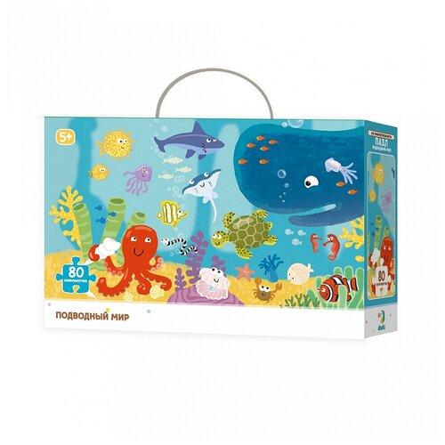 Фото - Рамка-вкладыш Dodo Подводный мир (R300134), 80 дет. пазл dodo зоопарк 300259 80 дет