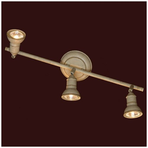 спот lussole lsl 2501 01 sobretta Спот Lussole Sobretta GRLSL-2501-03, кол-во ламп: 3 шт., цвет арматуры: бежевый, цвет плафона: бежевый