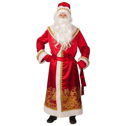 Карнавальные костюмы для взрослых Batik Костюм Дед Мороз пейзаж золото взр (5099)