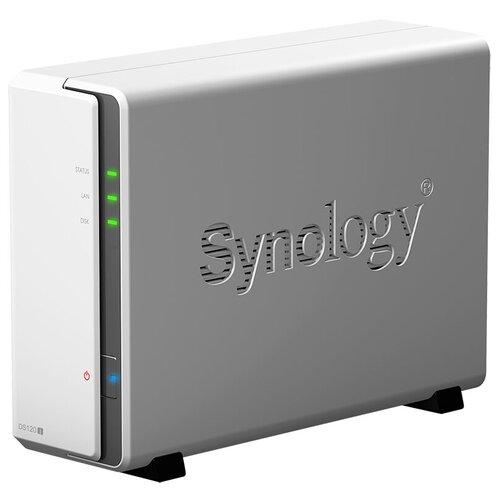Сетевой накопитель (NAS) Synology DS120j белый