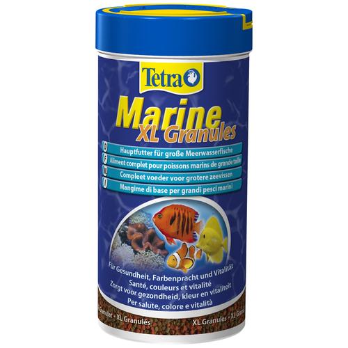 Фото - Сухой корм для рыб Tetra Marine XL granules, 250 мл сухой корм для рыб tetra discus granules 100 мл