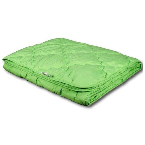 Фото - Одеяло АльВиТек Бамбук Микрофибра, легкое, 200 х 220 см (зеленый) одеяло альвитек крапива традиция легкое 200 х 220 см зеленый