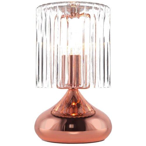 Настольная лампа Eurosvet Bulbo 01068/1 розовое золото, 40 Вт