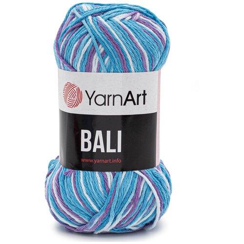 Купить Пряжа YarnArt 'Bali' 100гр 215м (80% хлопок, 20% полиэстер) (2102 секционный), 5 мотков