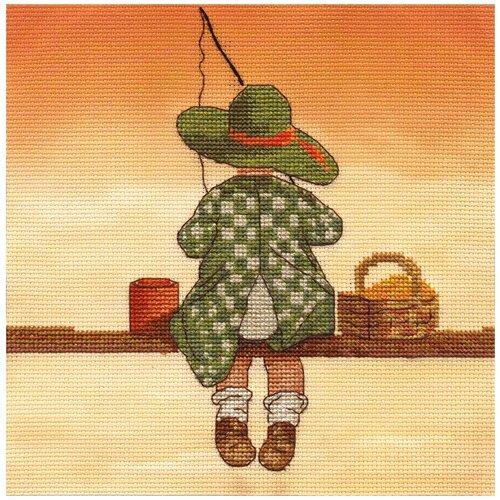 Купить Набор для вышивания крестиком PANNA Рыбалка (D-1301), Наборы для вышивания