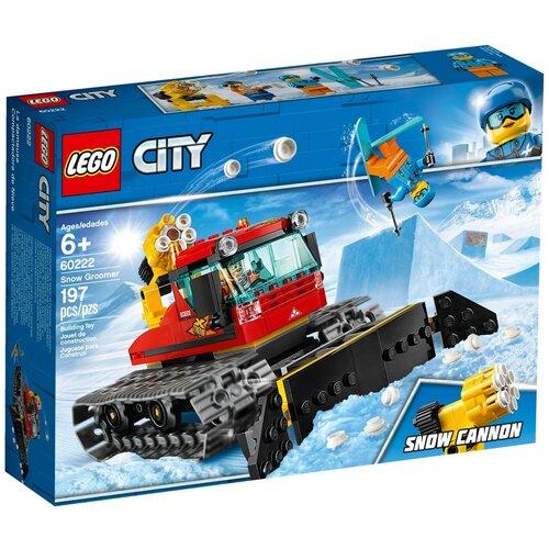 Конструктор LEGO City 60222 Снегоуборочная машина