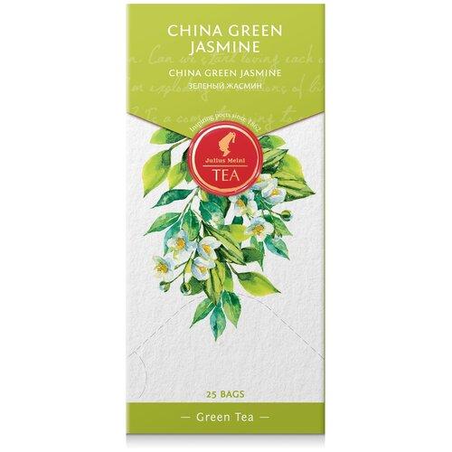julius meinl семь морей чай улун листовой 50 г Чай зеленый Julius Meinl Jasmine в пакетиках, 25 шт.