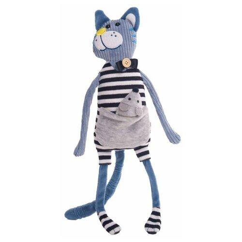 Мягкая игрушка Gulliver Кот Уильям 21 см мягкая игрушка gulliver кот ботаник 23 см