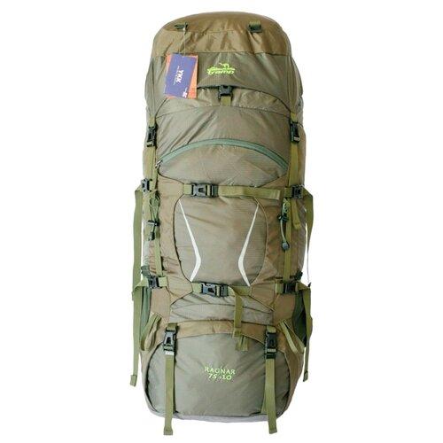 Рюкзак Tramp Ragnar 75+10, зеленый