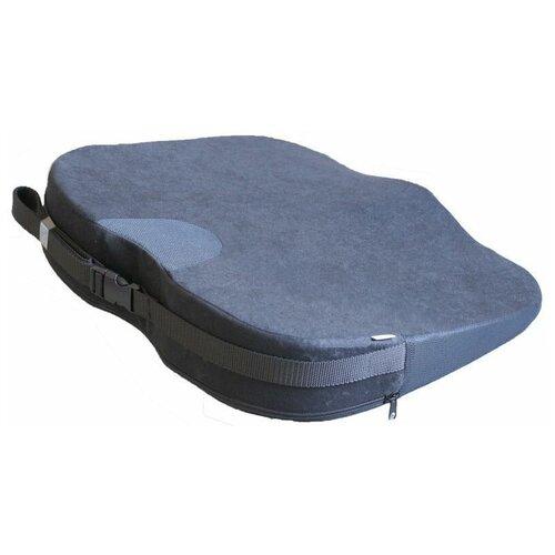 Подушка TRELAX ортопедическая для сиденья Spectra Seat П17 40 х 44 см серый