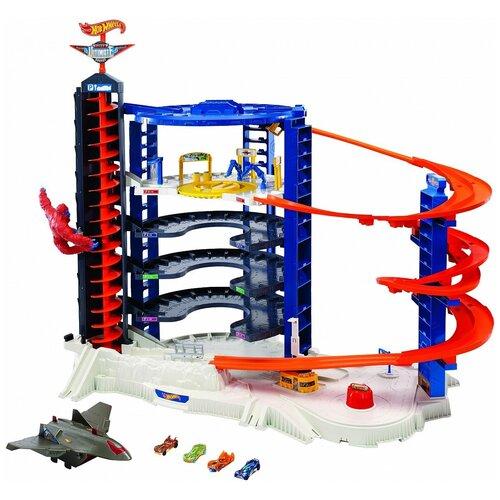 набор игровой mattel hot wheels мертвая петля Игровой набор Mattel Hot Wheels Невообразимая Башня FML03