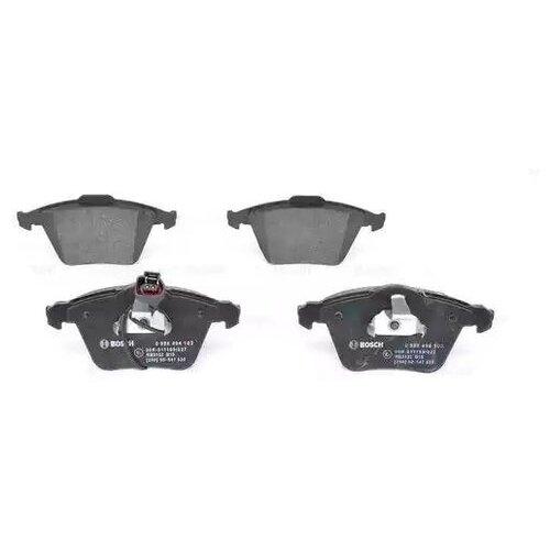 Дисковые тормозные колодки передние Bosch 0986494103 для Audi, Skoda, Volkswagen, SEAT (4 шт.) дисковые тормозные колодки передние bosch 0986494704 для skoda audi seat volkswagen 4 шт