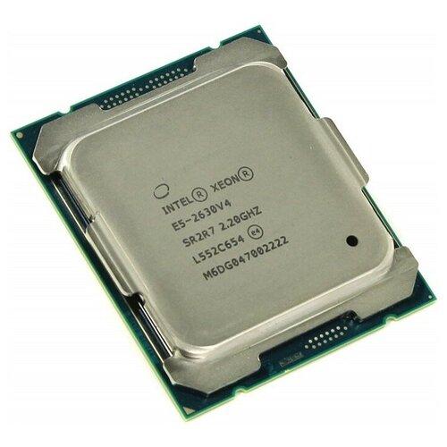 Фото - Процессор Intel Xeon E5-2630 v4, OEM процессор для серверов intel xeon e5 2650 v4 2 2ггц [cm8066002031103s]