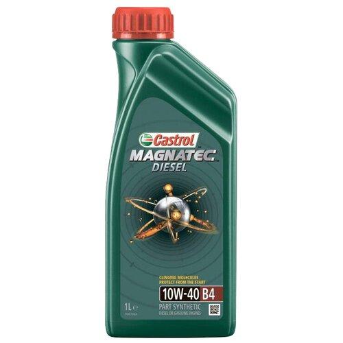 Фото - Полусинтетическое моторное масло Castrol Magnatec Diesel 10W-40 B4, 1 л полусинтетическое моторное масло castrol vecton 10w 40 7 л
