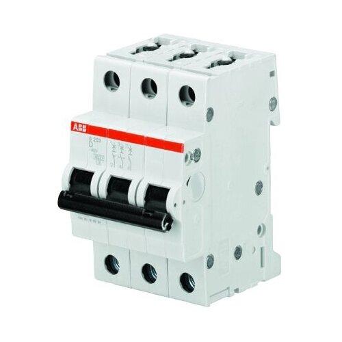 Автоматический выключатель ABB S203 3P (D) 6kA 6 А
