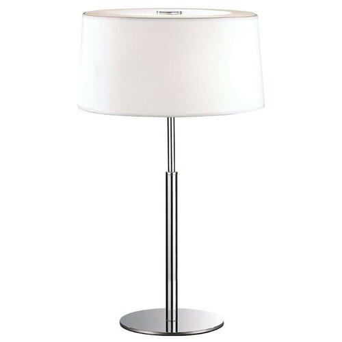 Настольная лампа IDEAL LUX Hilton TL2 Bianco, 80 Вт